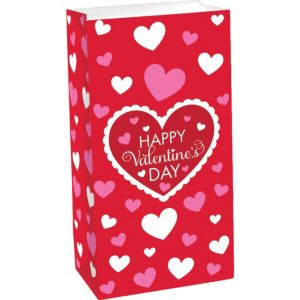 Happy Valentine's Day Treat Bag