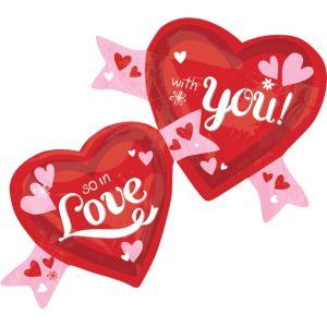 Valentine's Day Balloon - So In Love Heart