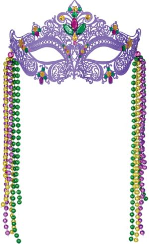 Filigree Mardi Gras Mask