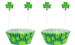 St. Patrick's Day Shamrock Cupcake Decorating Kit