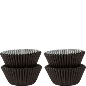 Mini Black Baking Cups 100ct