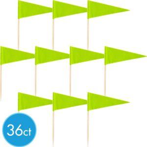 Kiwi Green Cupcake Picks 36ct