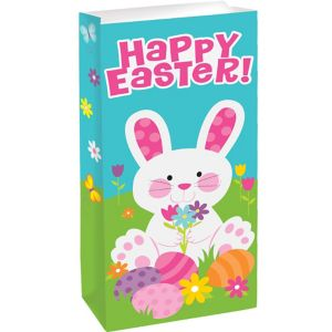Easter Bunny Treat Bags 20ct
