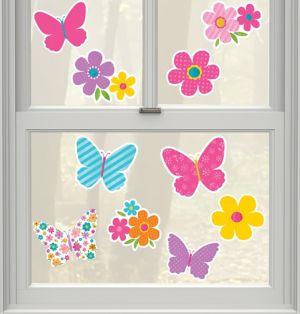 Mini Glitter Spring Cutouts 10ct