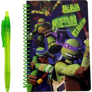 Teenage Mutant Ninja Turtles Notebook with Pen