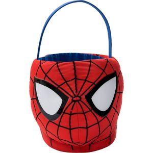 Plush Spider-Man Easter Basket