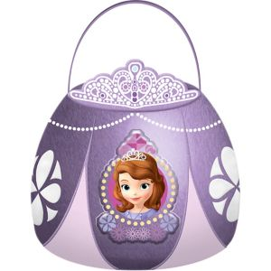 Plush Sofia the First Easter Basket