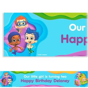 Custom Bubble Guppies Banner 6ft