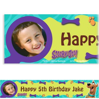 Scooby-Doo Where Are You! Custom Photo Banner