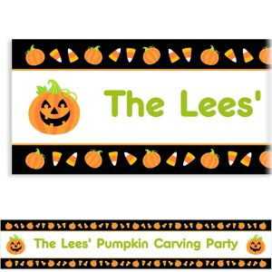 Custom Halloween Friends Banner 6ft