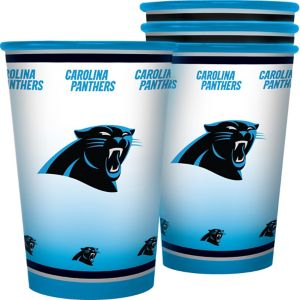 Carolina Panthers Tumblers 4ct