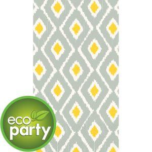 Eco-Friendly Sun & Slate Ikat Guest Towels 16ct