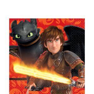 How to Train Your Dragon Lunch Napkins 16ct