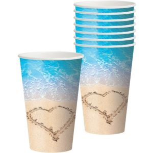 Beach Love Cups 8ct
