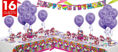 Rainbow Hello Kitty Party Supplies Deluxe Party Kit