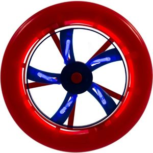 Patriotic Red, White & Blue Glow Stick Flying Disc