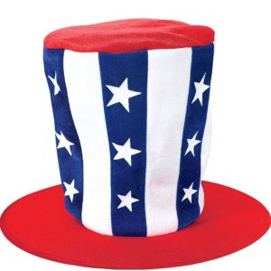 Tall Patriotic Top Hat