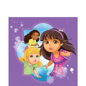 Dora and Friends Lunch Napkins 16ct
