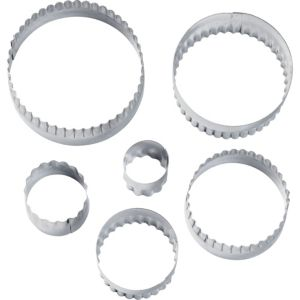 Wilton Round Fondant & Cookie Cutters 6ct