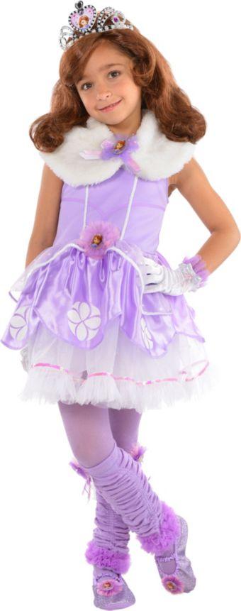 Girls Tutu Sofia the First Costume