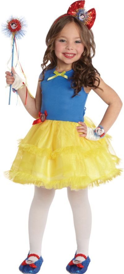 Girls Tutu Snow White Costume