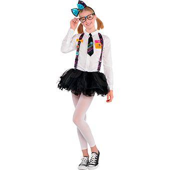 girls hello kitty nerd costume - Halloween Hello Kitty Costume