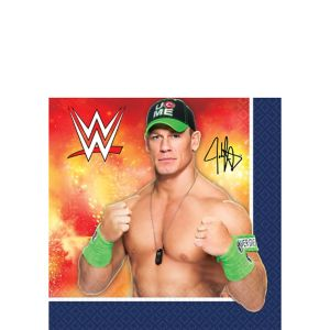 WWE Beverage Napkins 16ct