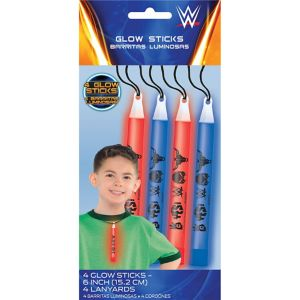 WWE Glow Sticks 4ct