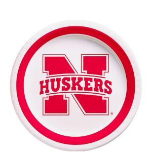 Nebraska Cornhuskers Dessert Plates 12ct