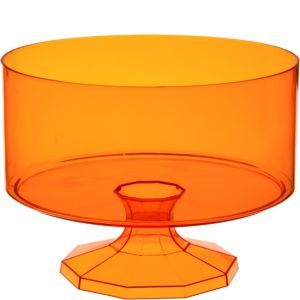 Orange Plastic Trifle Container