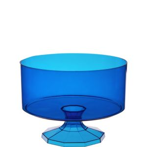 Small Royal Blue Plastic Trifle Container