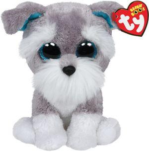 Whisker Beanie Boo Schnauzer Dog Plush