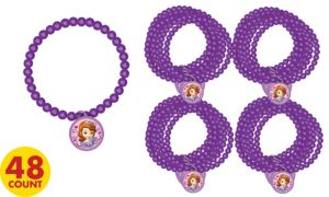 Sofia the First Bracelets 48ct