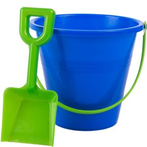 Blue Beach Pail with Shovel