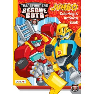 Transformers Coloring & Activity Book