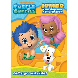 Bubble Guppies Coloring & Activity Book