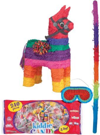 Rainbow Donkey Pinata Kit