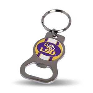 Louisiana State Tigers Bottle Opener Keychain