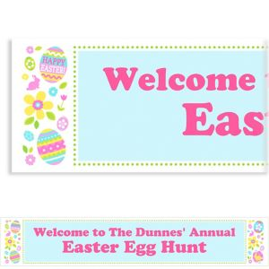 Custom Egg Hunt Banner 6ft