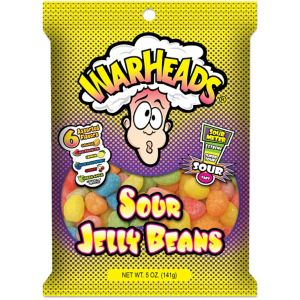 Warheads Sour Jelly Bean 5 oz