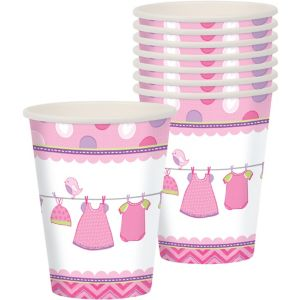 It's a Girl Baby Shower Cups 8ct
