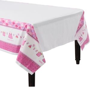 It's a Girl Baby Shower Table Cover