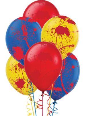 Blood Splatter Balloons 6ct - Creepy Carnival