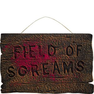 Field of Screams Sign
