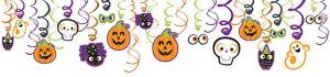 Friendly Halloween Swirl Decorations 30ct