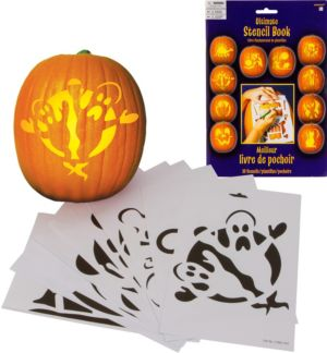Pumpkin Carving Stencils 10ct