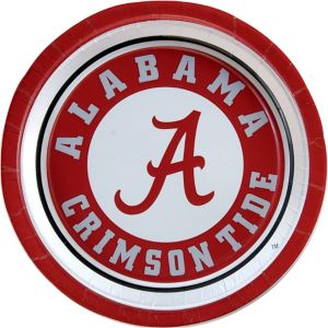 Alabama Crimson Tide Lunch Plates 10ct