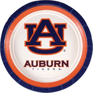 Auburn Tigers Lunch Plates 10ct