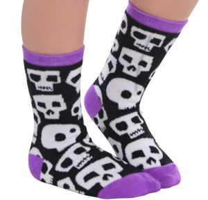 Child Skull Crew Socks