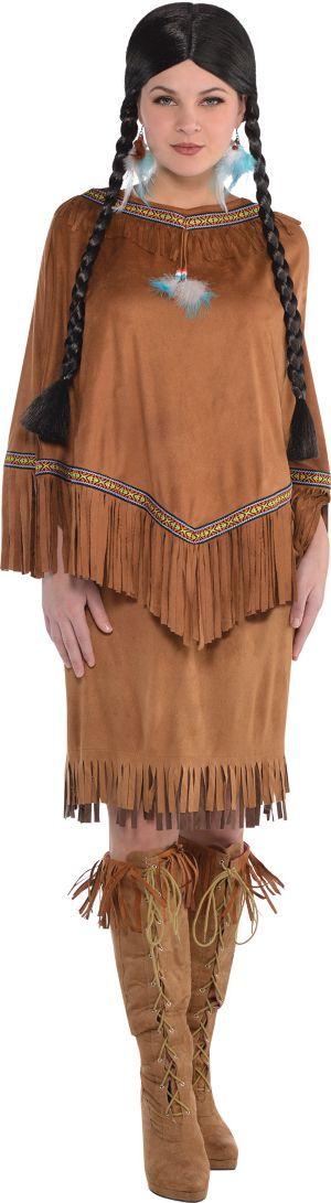 Native American Fringe Poncho